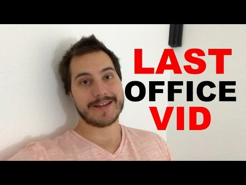 Last Video in the Office Ever