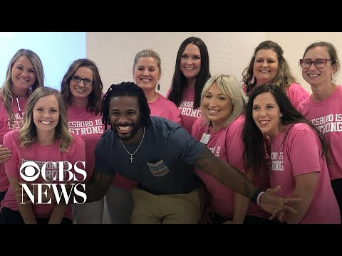 Jason Carr - Former NFL Player Pays For 500 Mammograms After Mom Dies Of Breast Cancer