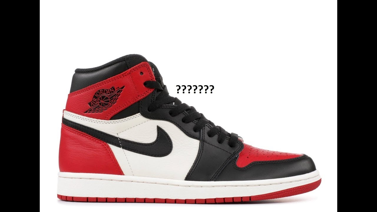 Air Jordan 1 Bred Toe How Many Pairs Made & Market Value?