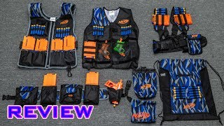[REVIEW] New Nerf Tactical Gear | NOT Garbage!?