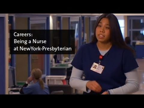 Being a Nurse at NewYork-Presbyterian