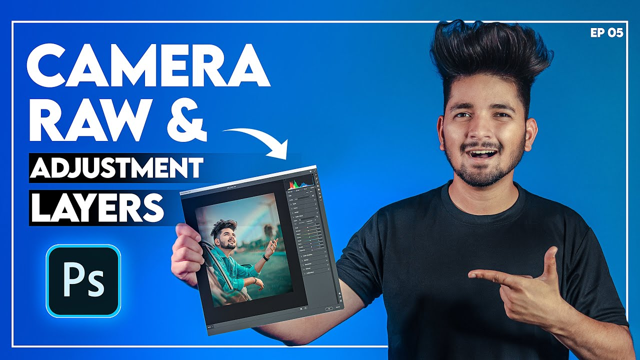 Color Grading With Camera RAW & Adjustment Layers - Photoshop Masterclass EP05 - NSB Pictures