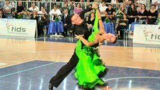 Benedetto Ferruggia + Claudia Köhler Esibizione Danze Standard, Treviglio 21/10/2012