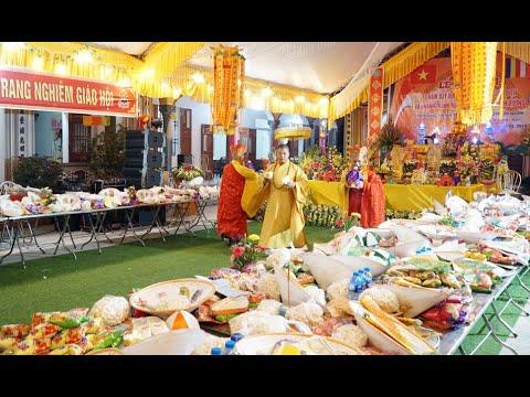 Chùa Hiếu Quang Giao Thịnh Cúng Đàn Mông Sơn Thí Thực 2019