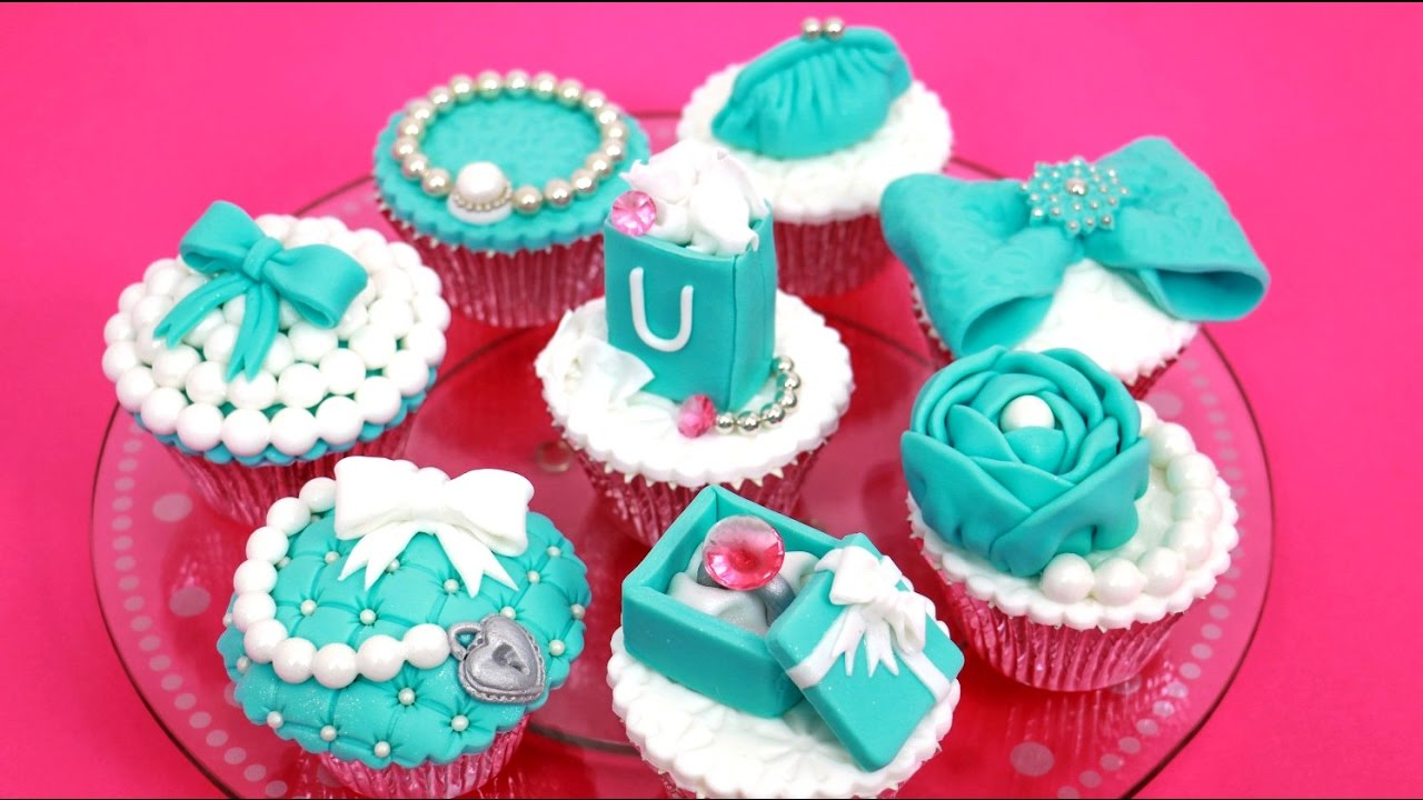 bf3f738a4c82 TIFFANY Cupcakes Cake Toppers How To Make by Cakes StepbyStep - YouTube