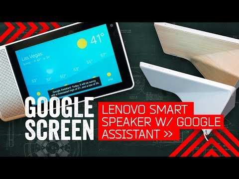 Google Home Gets A Screen: Lenovo Smart Display Hands-On