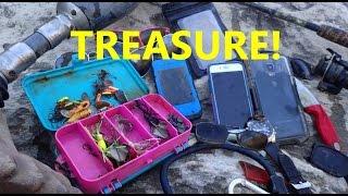 River Treasure: Samsung Galaxy Note 4, 2 iPhones, Gold Ring, Fishing Tackle And MOAR!