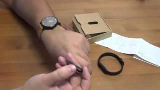 Умный браслет из Китая Xiaomi Mi Band 1S  Обзор