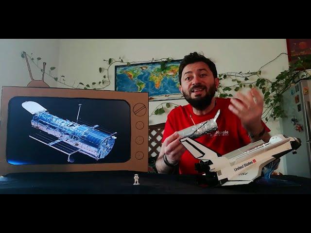 Telescopio spaziale Hubble - Le Nuvole Scienza #comunicarescienza #giocaconlenuvole #astrofisica