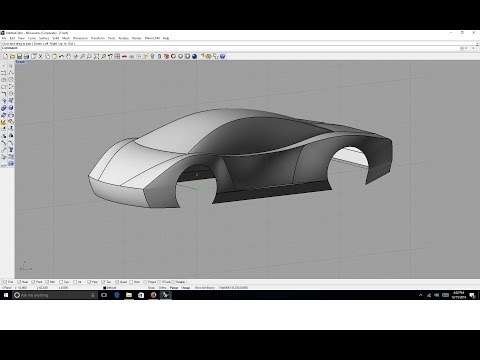 How to 3D model a Supercar in under 20 minutes! easy!