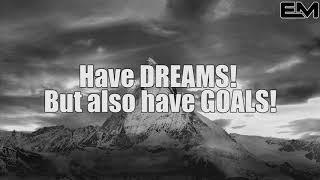Have DREAMS! But also have GOALS! Denzel Washington   Motivational Speech mp4