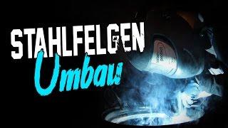 HOLYHALL |  STAHLFELGEN UMBAU AUF TIEFBETT | NO MONEY FOR BBS