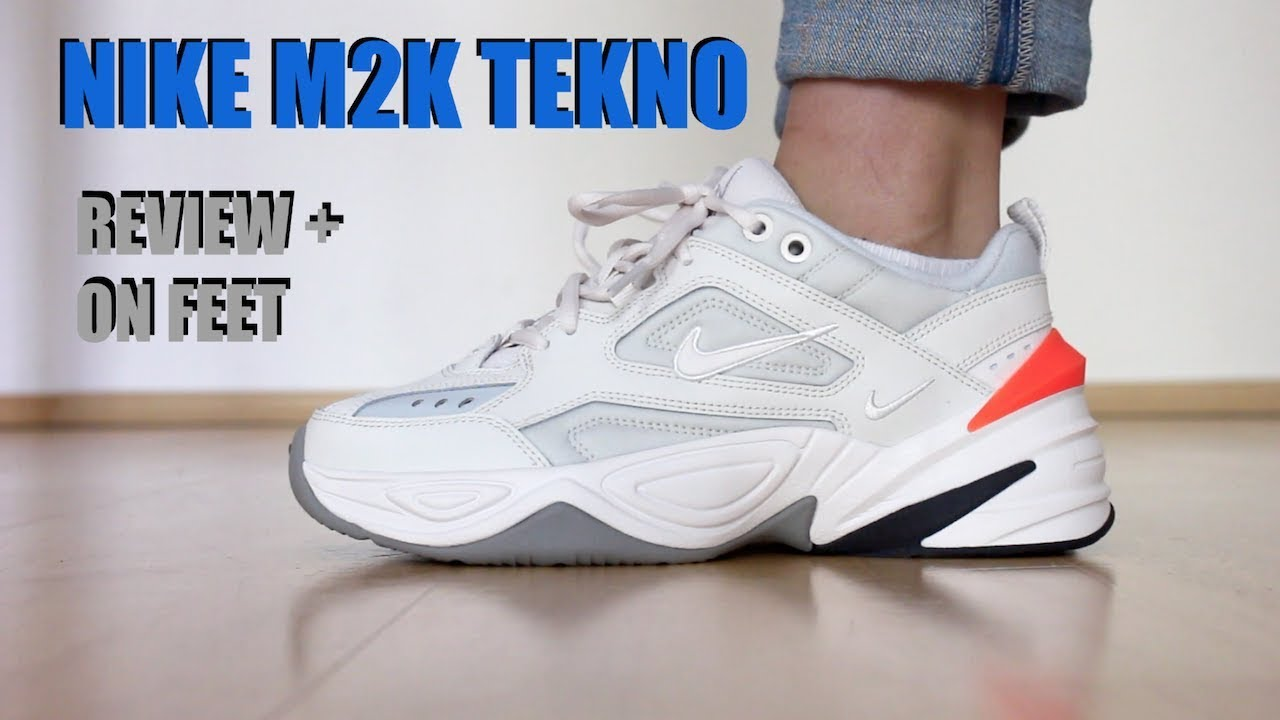 ecd9ac7ea8bd NIKE M2K TEKNO REVIEW + ON FEET - AIR MONARCH 2 - YouTube