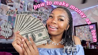 how I make money as a teen in quarantine *fast & simple*