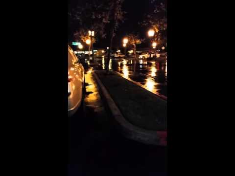 Flash flood warning in San Diego, Ca. Tornado