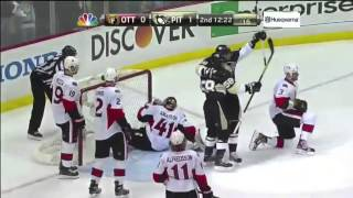 "James Neal Mic'd Up - ""What is violence anyway?"""