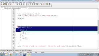 C Programlama | Ders 11 | For Döngüsü ÖRNEKLER (3/4)