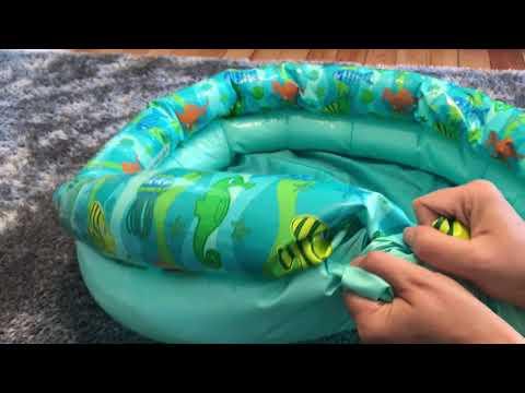 ASMR | Various Sounds: Beach Ball, Inflatable Pool, Tarp