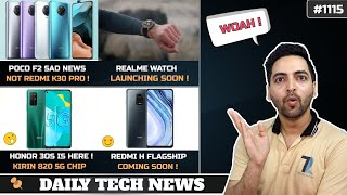 POCO F2 is Not Redmi K30 Pro,Jio Recharge With ATM Machine,Oneplus TWS Earphones,Redmi H Flagship