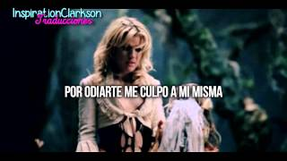 Kelly Clarkson - | Behind these hazel eyes | - (Traducida)