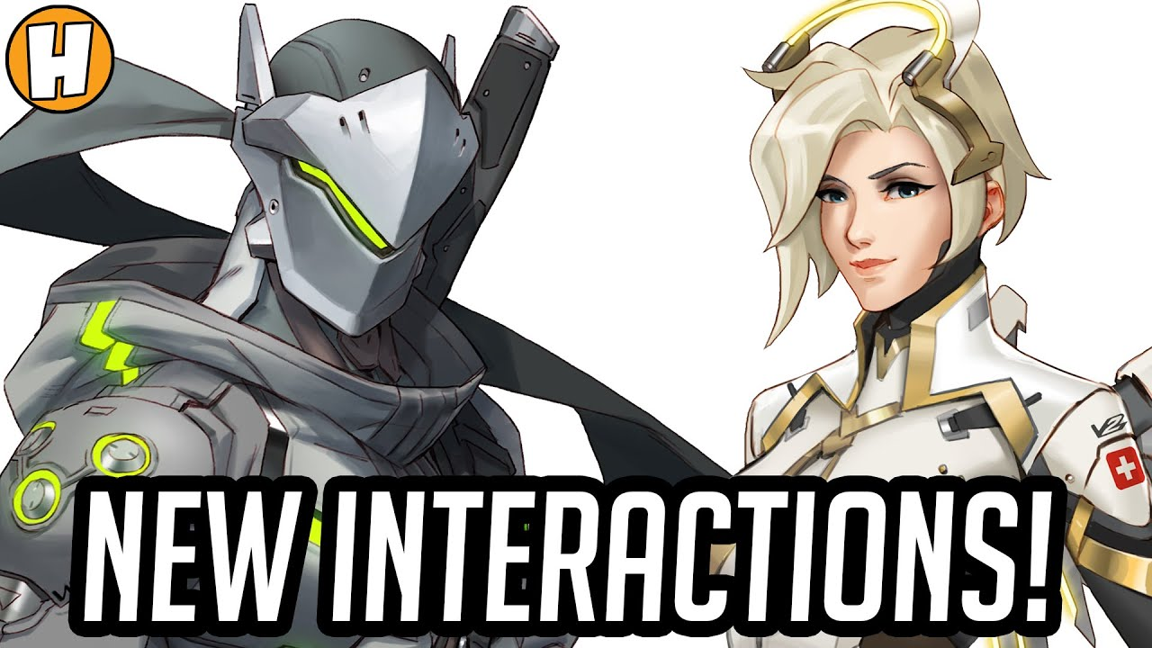 Download Overwatch - NEW Interactions and Voice Lines! (Echo Patch) | Hammeh