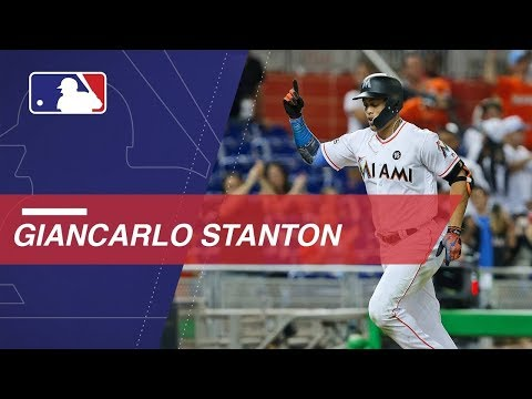 Check out all 55 of Stanton's homers in 2017