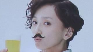 女優、永作博美が、1人2役で夫婦を演じたサッポロビールの新商品「サ...