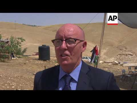 Outrage at plans to remove Bedouin community