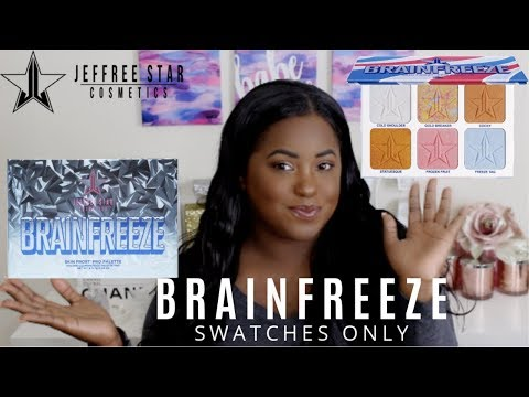 JEFFREE STAR BRAINFREEZE SKIN FROST PALETTE | SWATCHES ONLY thumbnail