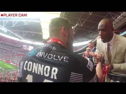 Player Cam: Ladbrokes Challenge Cup Final 2017