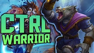 Control Warrior on Day 1 of the Reset | Rank 4 | VOD | The Witchwood | Heathstone Expansion