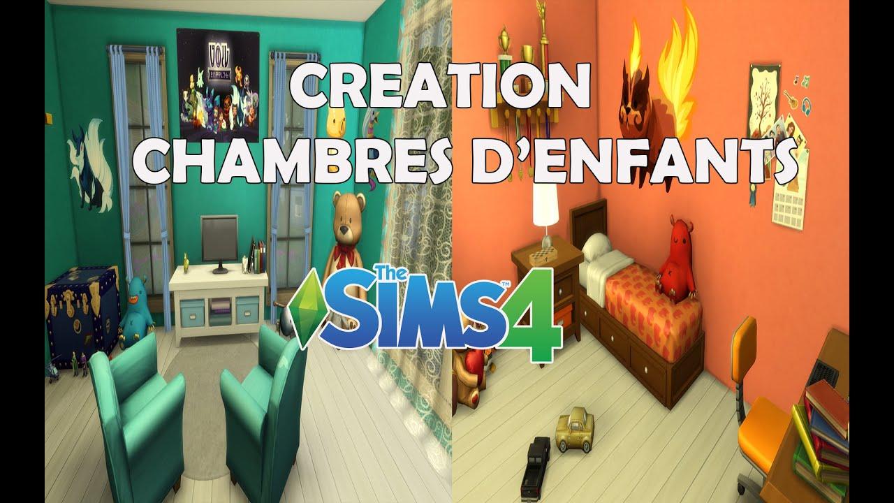 Les Sims 4 Chambres d enfants garcon Creation Deco
