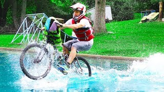 BIKING ON WATER!!