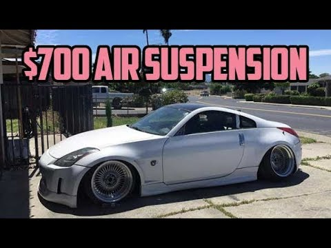 Cheapest way to bag your car / manual air suspension