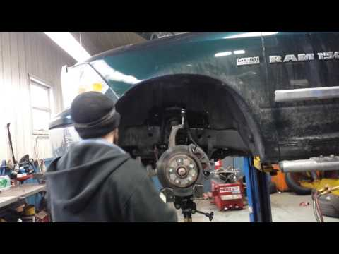 How to install upper control arms / balljoints 2011 Ram in Under 1O minutes MOPAR