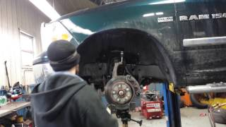 how to install upper control arms balljoints 2011 ram in under 1o minutes mopar