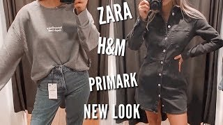 Come Shopping With Me - ZARA, Primark, Urban Outfitters, New Look | Fashion Influx
