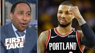 'I'm not going to disrespect Dame Time like that' – Stephen A. takes Warriors in 6 | First Take