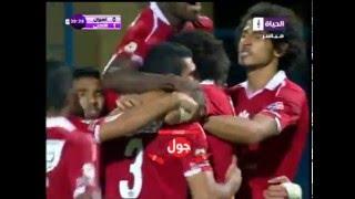 هدف الأهلي الأول في أسوان مقابل 0 رامي ربيعة الدوري 12 مايو 2016
