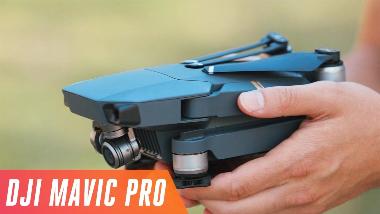 DJIs New Mavic Pro Is Its Smallest 4K Drone