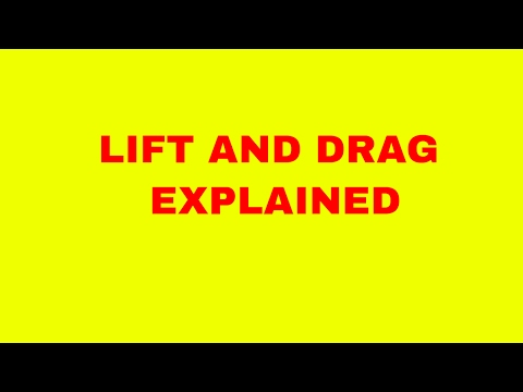 drag and lift explained | lift and drag explained | airfoil tools | lift force | drag force