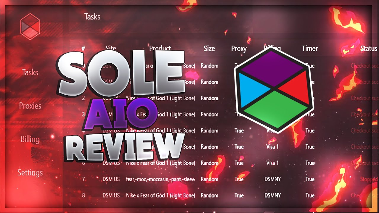 Clasificar Hacia Normal  Sole AIO REVIEW/GUIDE | BEST AIO BOT? 2019 - YouTube