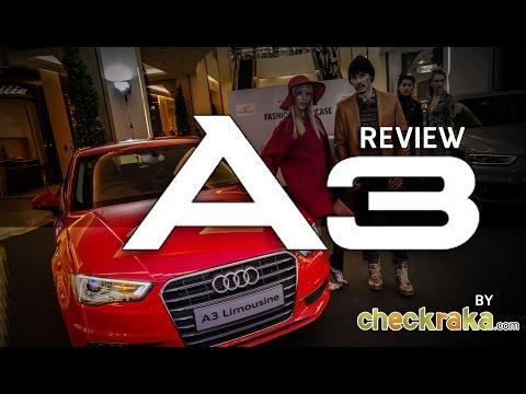 รีวิว REVIEW : New Audi A3 Limousine