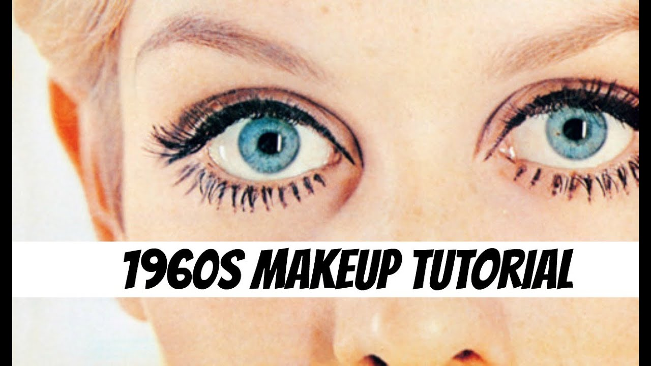 a 1960s makeup tutorial the glamorous housewife beauty