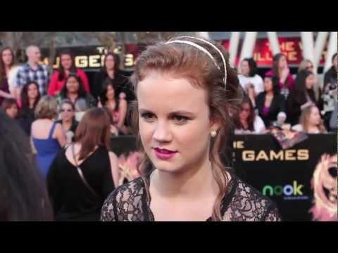 Mackenzie Lintz  The Hunger Games Premiere