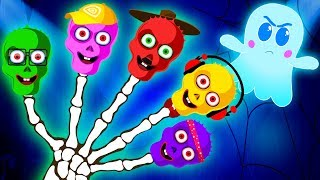 Learn Colors With Funny Skeletons Bulbs and More Baby Songs by Teehee Town