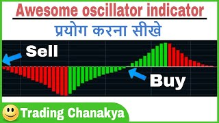 awesome oscillator indicator for intraday and short term trading by trading chanakya