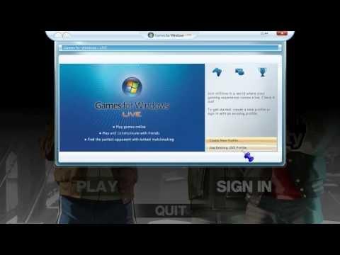 GTA IV Windows live connecting problem