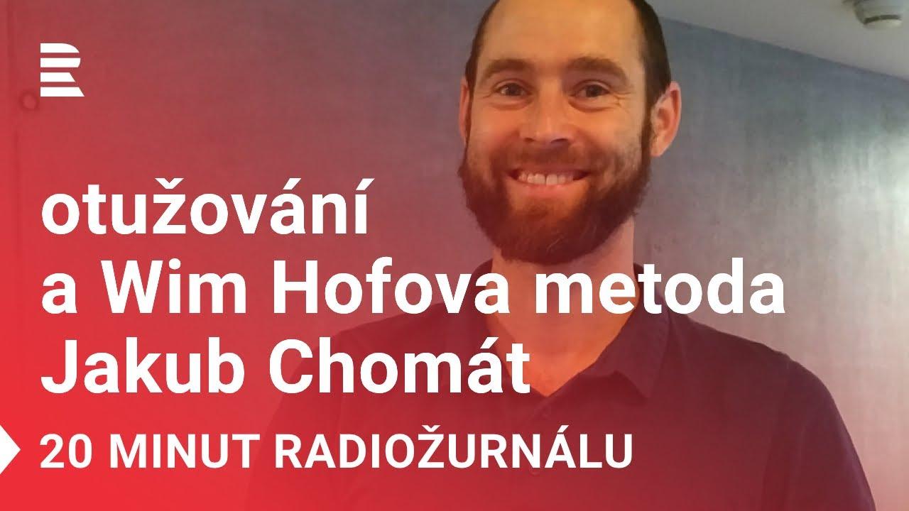 """Jakub na Radiožurnálu - """"Chladné sprchy a otužování vzduchem pro začátek stačí,"""" radí instruktor"""