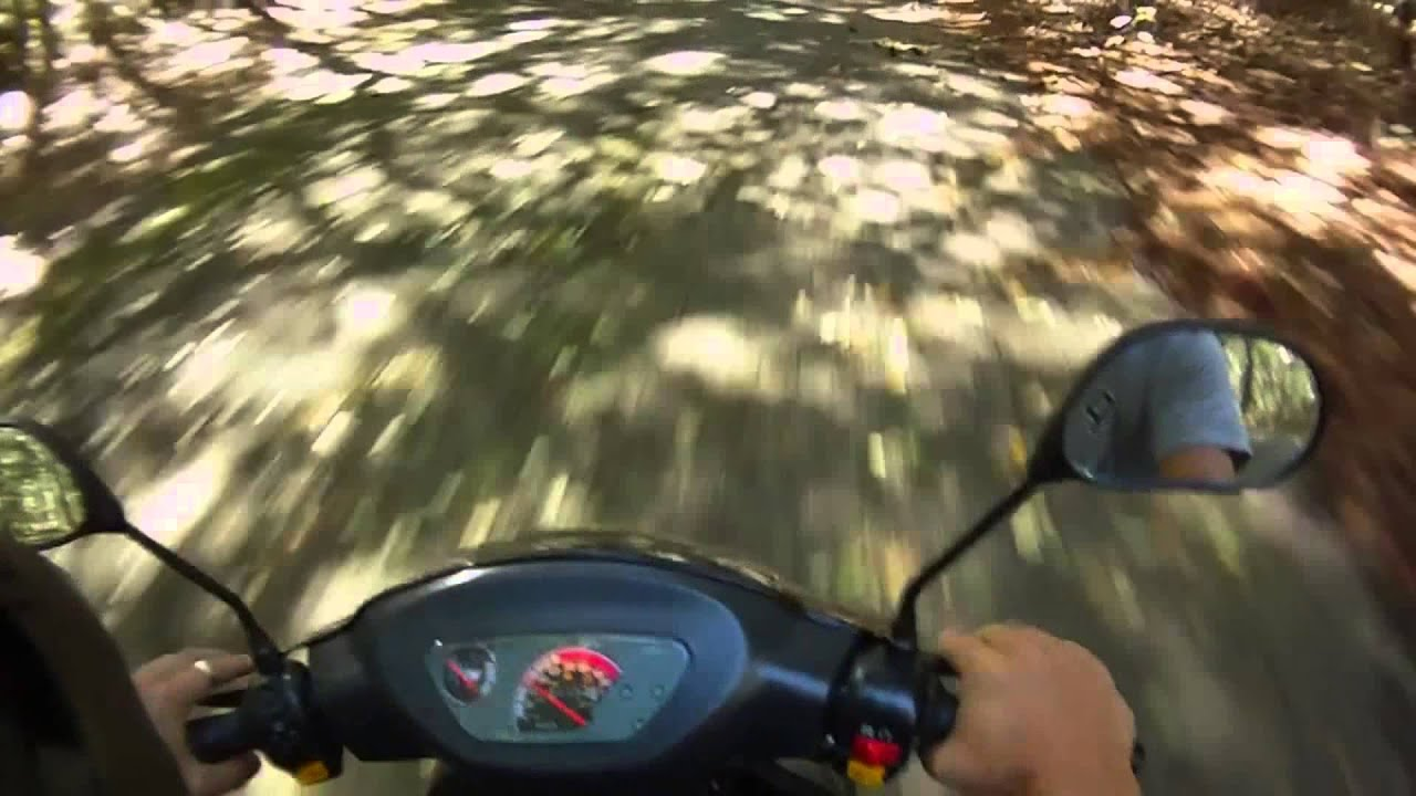 Chinese taotao scooter review 50cc 49cc CY50-T3 2012 vs 2011 ATM50